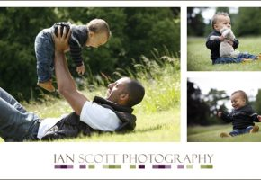 Surprise Fathers day photo shoot