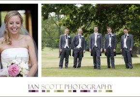 Grace and Phil's wedding at Haileybury College