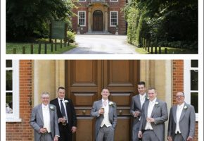Rebecca & Stephen's wedding at Hunton Park Hertfordshire