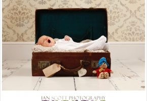 Newborn photo shoot at our Wheathampstead studio