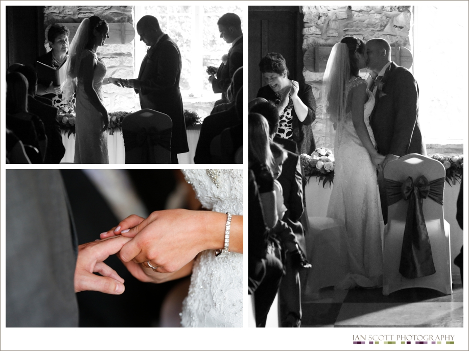 ceremony at notley tythe barn
