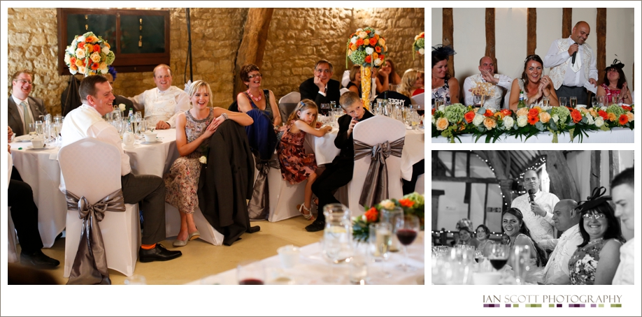 speeches at wedding in notley tythe barn