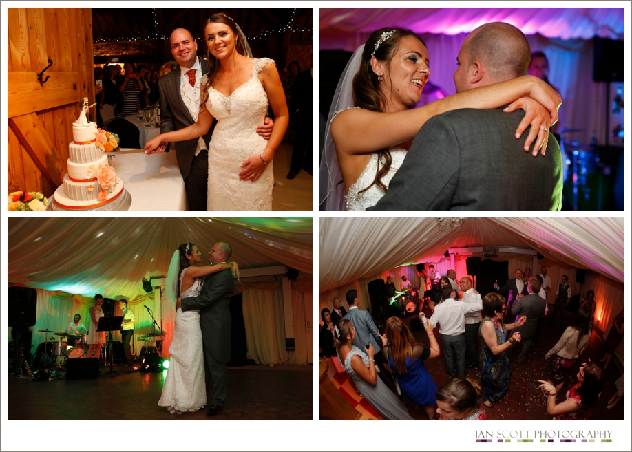 first dance photos at notley tythe barn