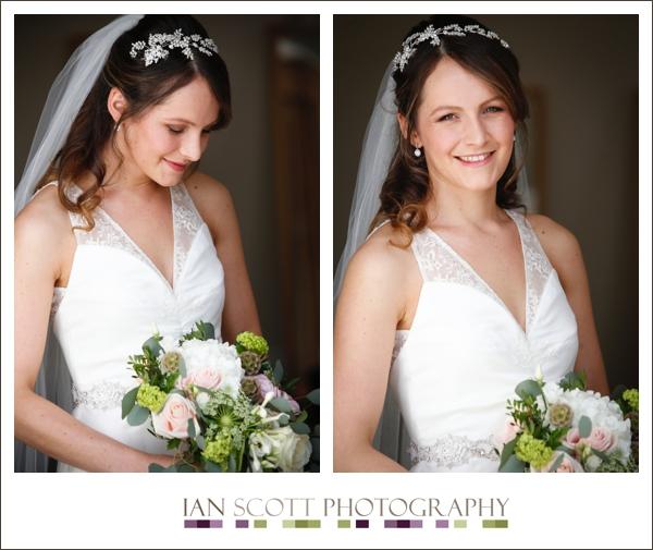 bride at Hunton park