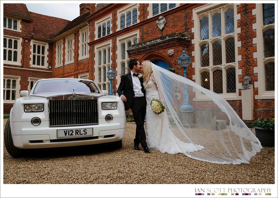 wedding at Gosfield Hall