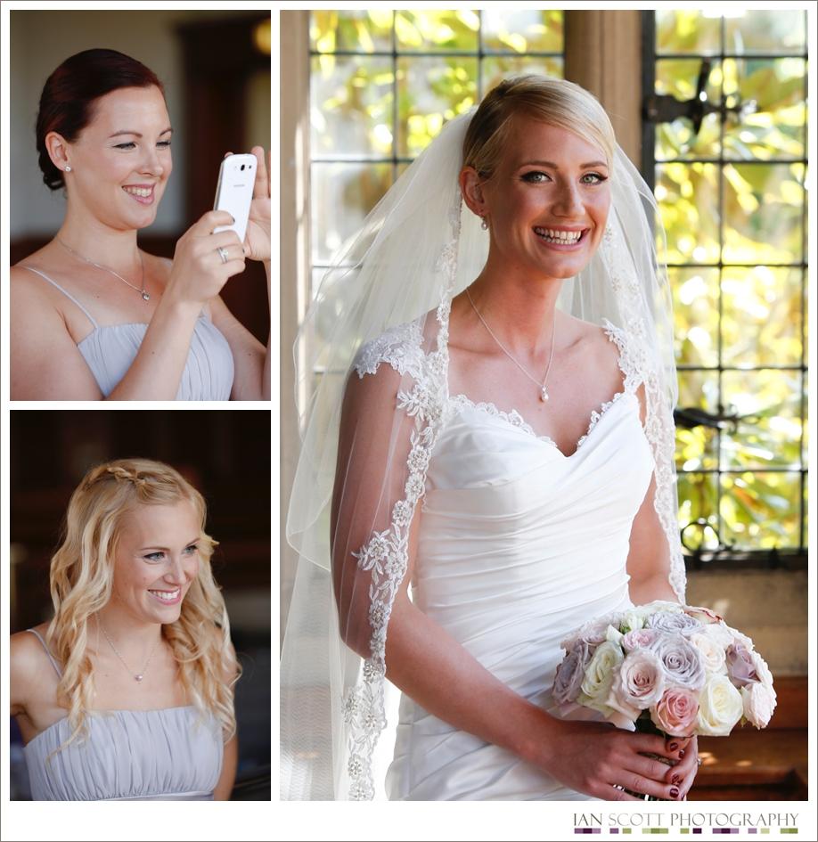 wedding at Fanhams Hall