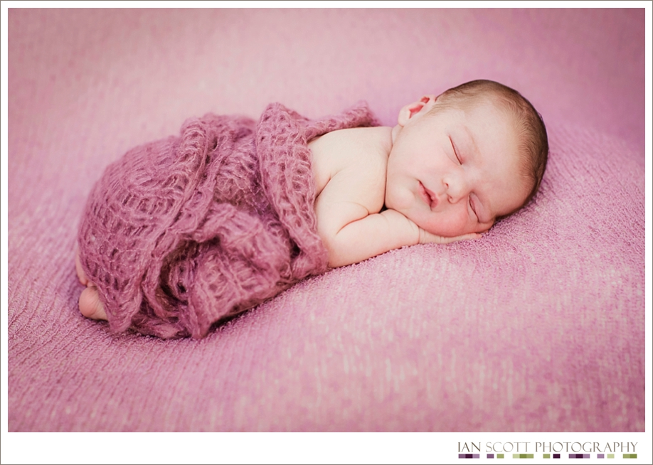 newborn peacefully sleeping
