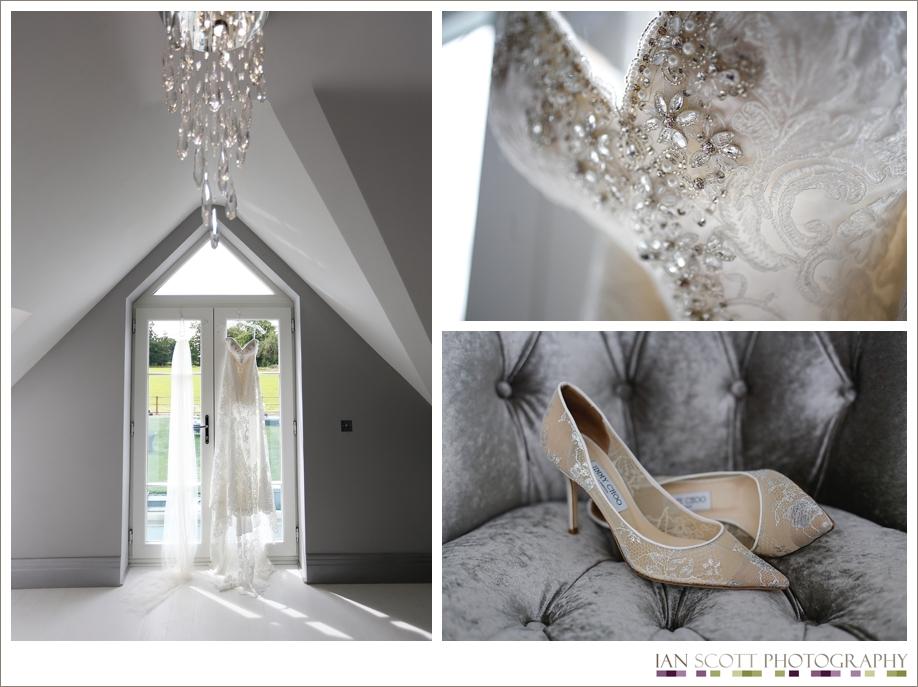 marquee wedding - bridal preparations