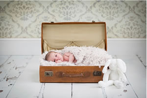 Newborn photographer Redbourn