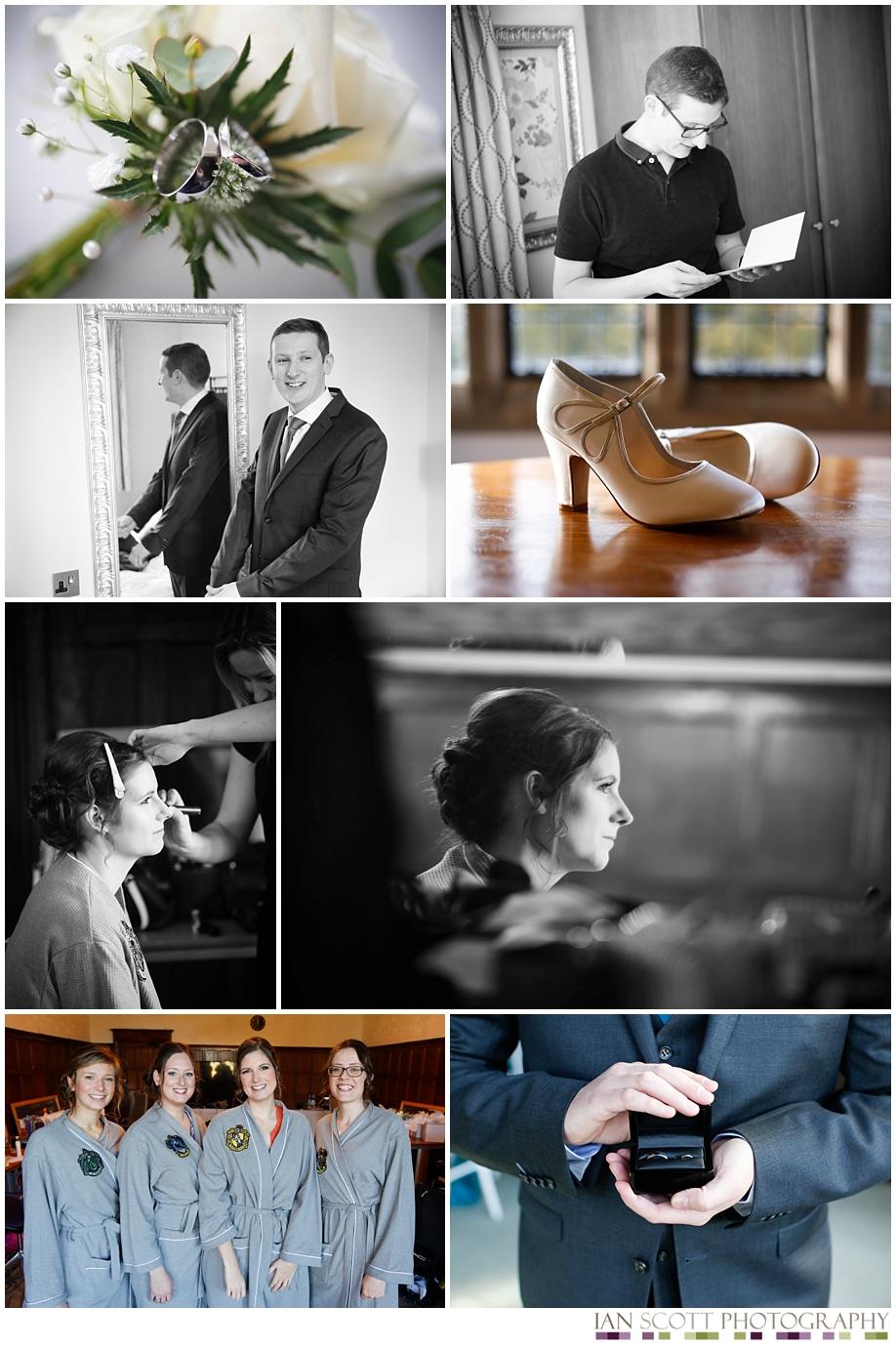 wedding images at Fanhams Hall