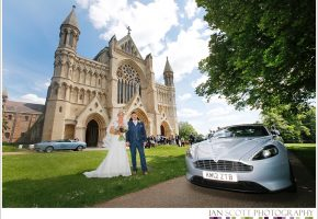 wedding atSt.Albans cathedral