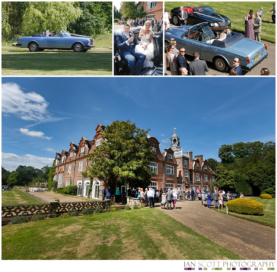 wedding at Rothamsted manor