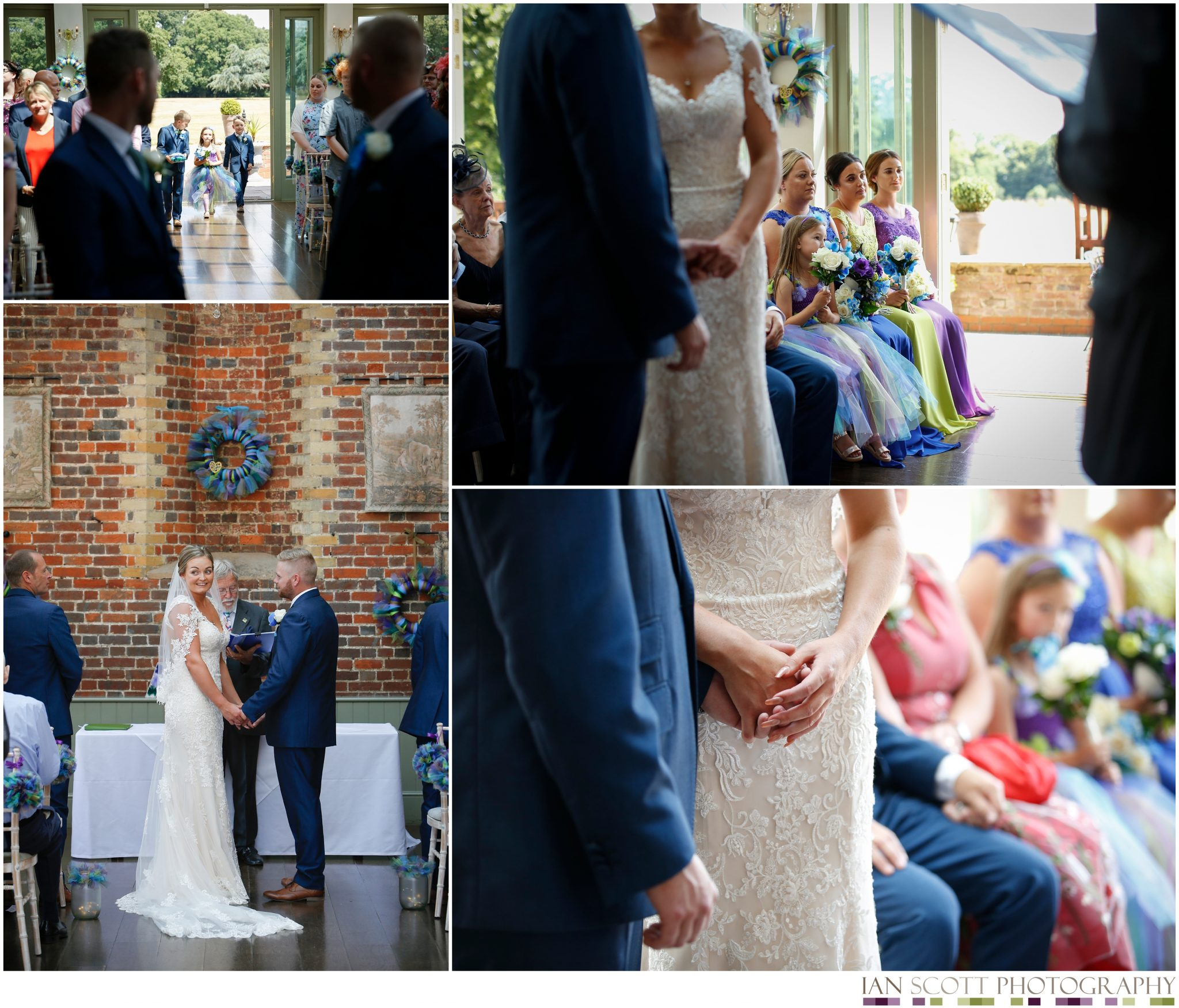 ceremony at offley place