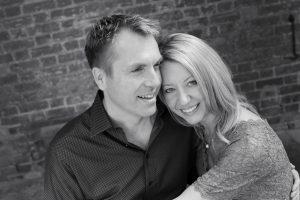 couple at Ashridge house